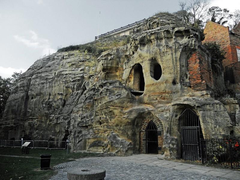 Wanderlust Tips Magazine | Housing in caves under the city of Nottingham
