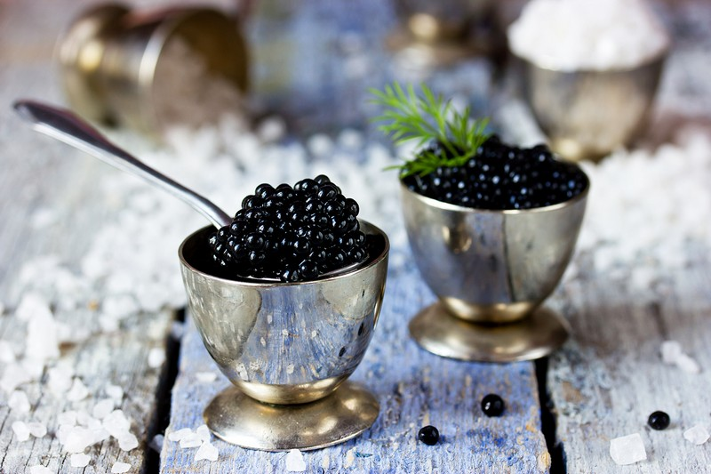 Wanderlust Tips Magazine   Caviar - black jewel for the dinner table