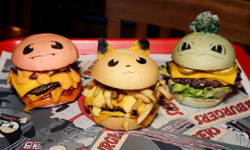 Wanderlust Tips Magazine   Pokemon burgers served at Sydney restaurant