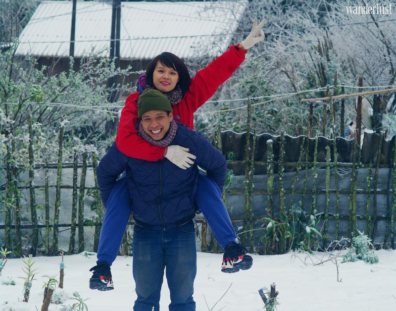 Wanderlust Tips Magazine   Nam Chay: From a kiss in the snow, to a cross-country honeymoon