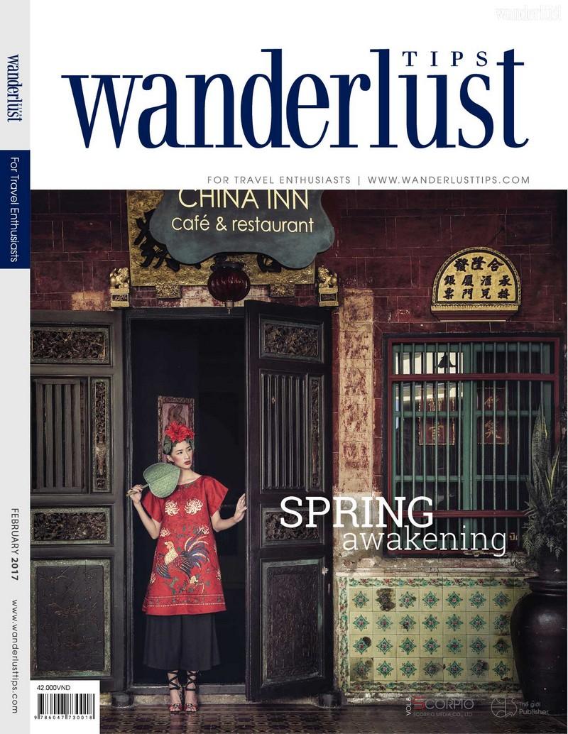 Wanderlust Tips travel magazine's February issue 2017: Spring awakening
