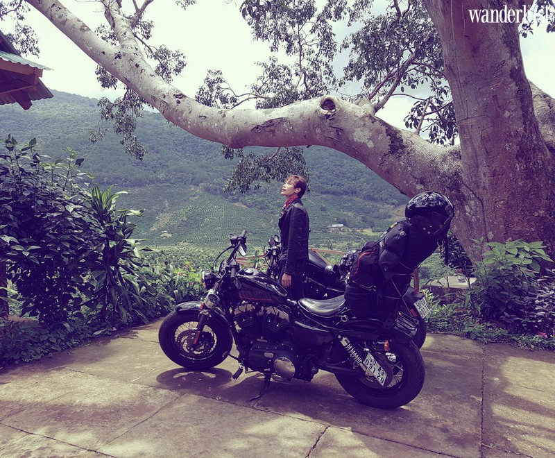 Wanderlust Tips Magazine   Thu Hien: The model with a love of motorcycles and backpacking