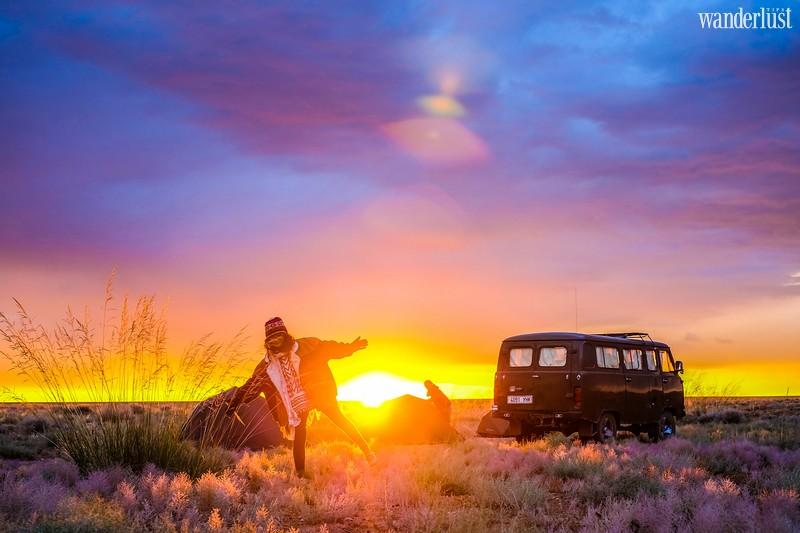 Wanderlust Tips Magazine   A 12-day road trip across the cold Gobi Desert