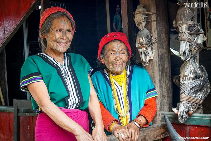 The stunning facial inkings of Chin women in Western Myanmar
