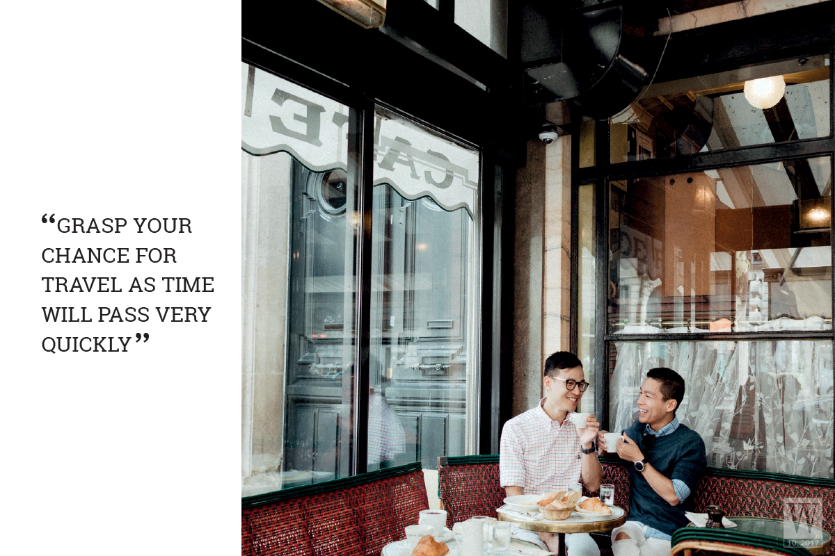 Wanderlust Tips Magazine   Adrian Anh Tuan: Grasp your chance for travel as time will pass very quickly