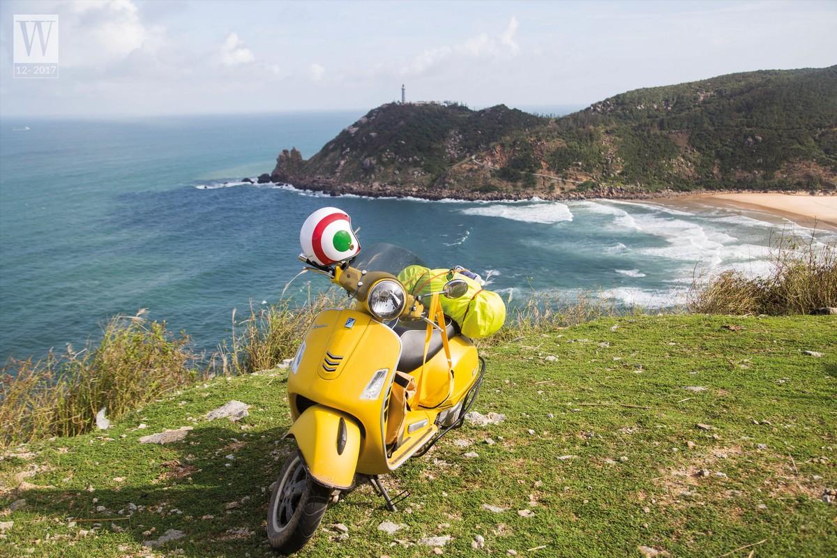 Wanderlust Tips Magazine   Scootering along the coastline
