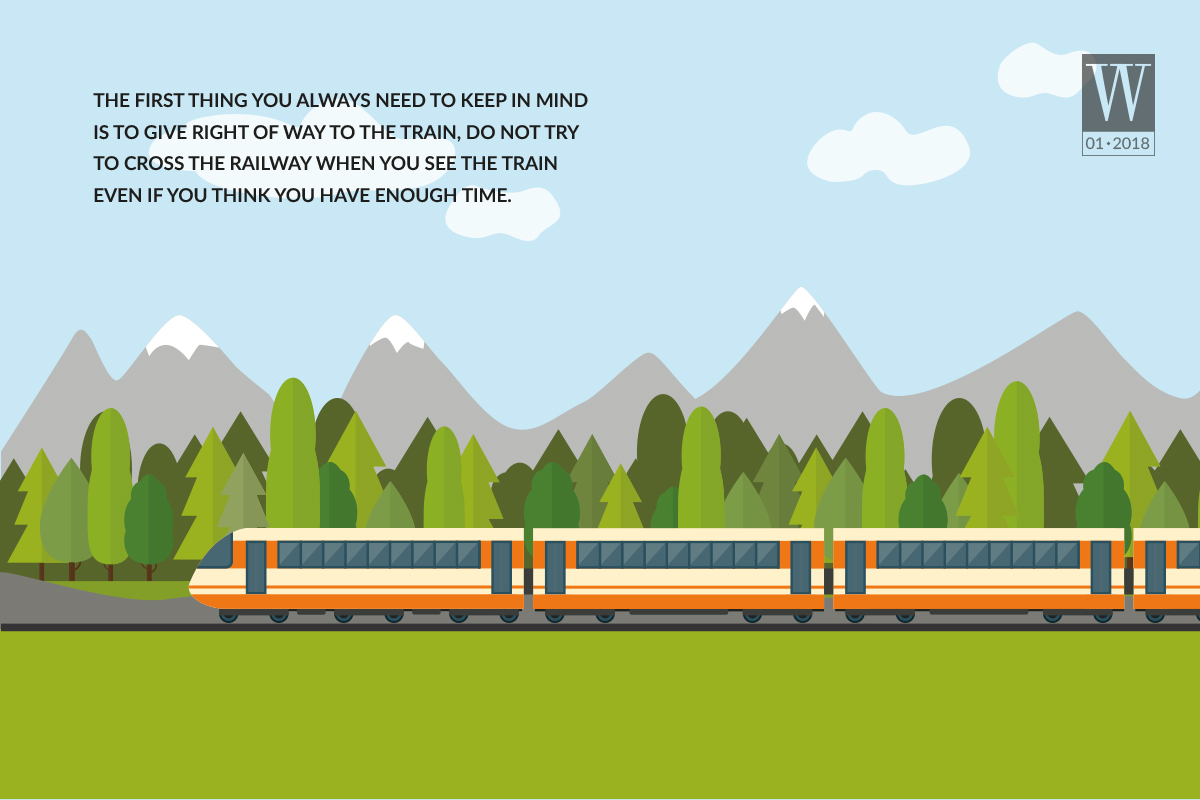 Wanderlust Tips Magazine | Tips for for driving when crossing the railroad