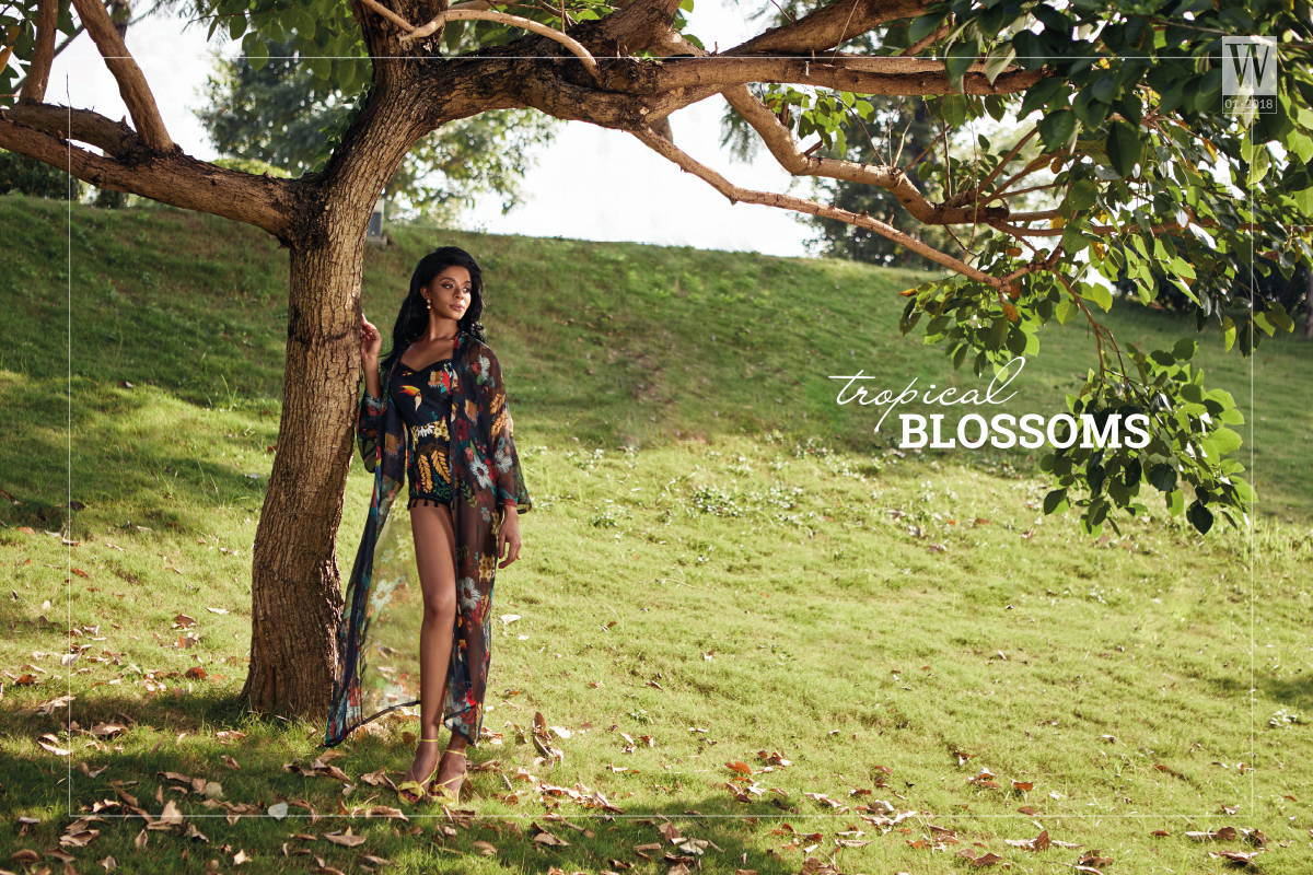 Wanderlust Tips Magazine   Fashion collection: Tropical Blossoms