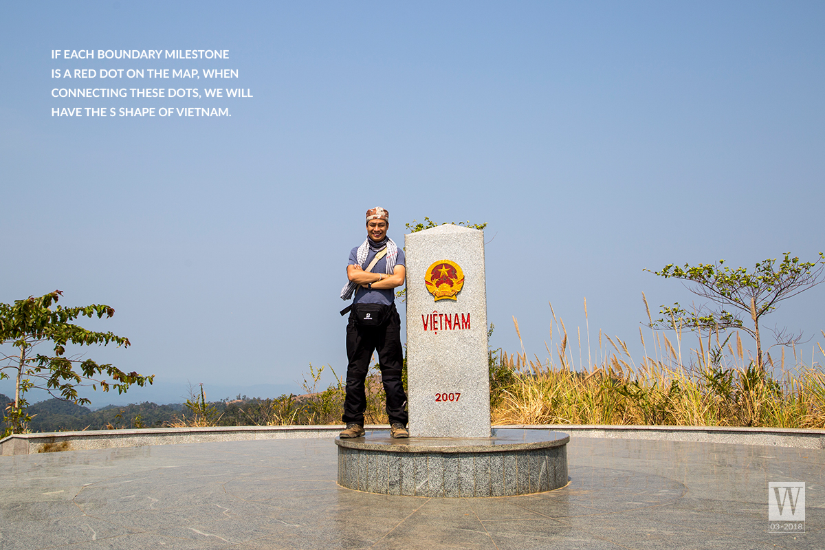 Wanderlust Tips Magazine   Boundary milestones at the country's border areas