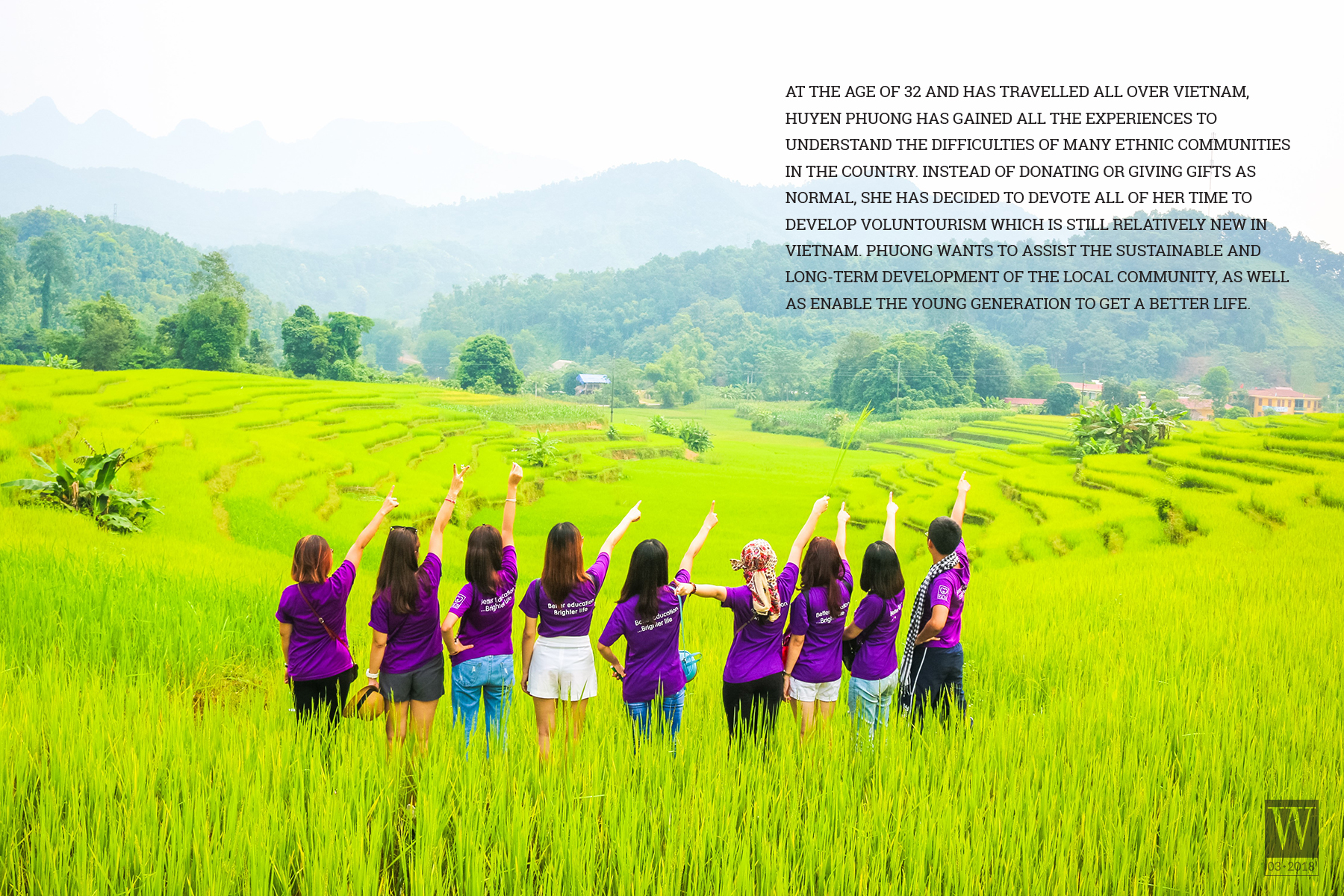 Wanderlust Tips Magazine   Huyen Phuong – A girl who is dedicated to the voluntourism in Viet Nam