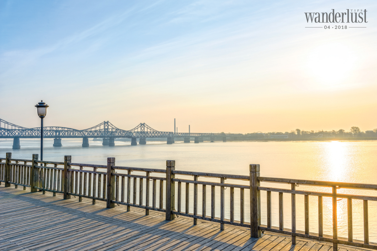 Wanderlust Tips Magazine   By the river at the border