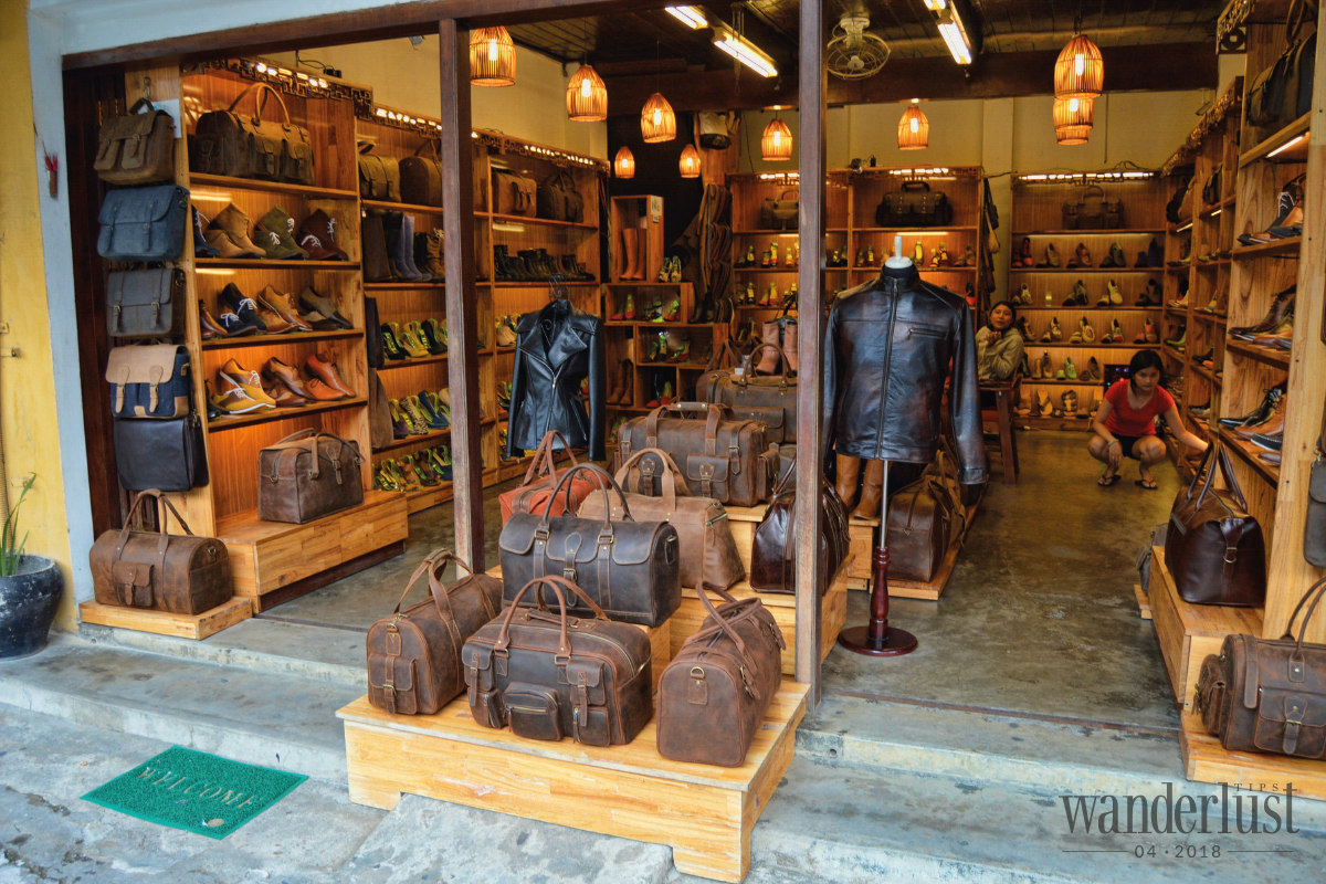 Wanderlust Tips Magazine   Tailoring Ao dai in Hue, go to Hoi An for shoes making