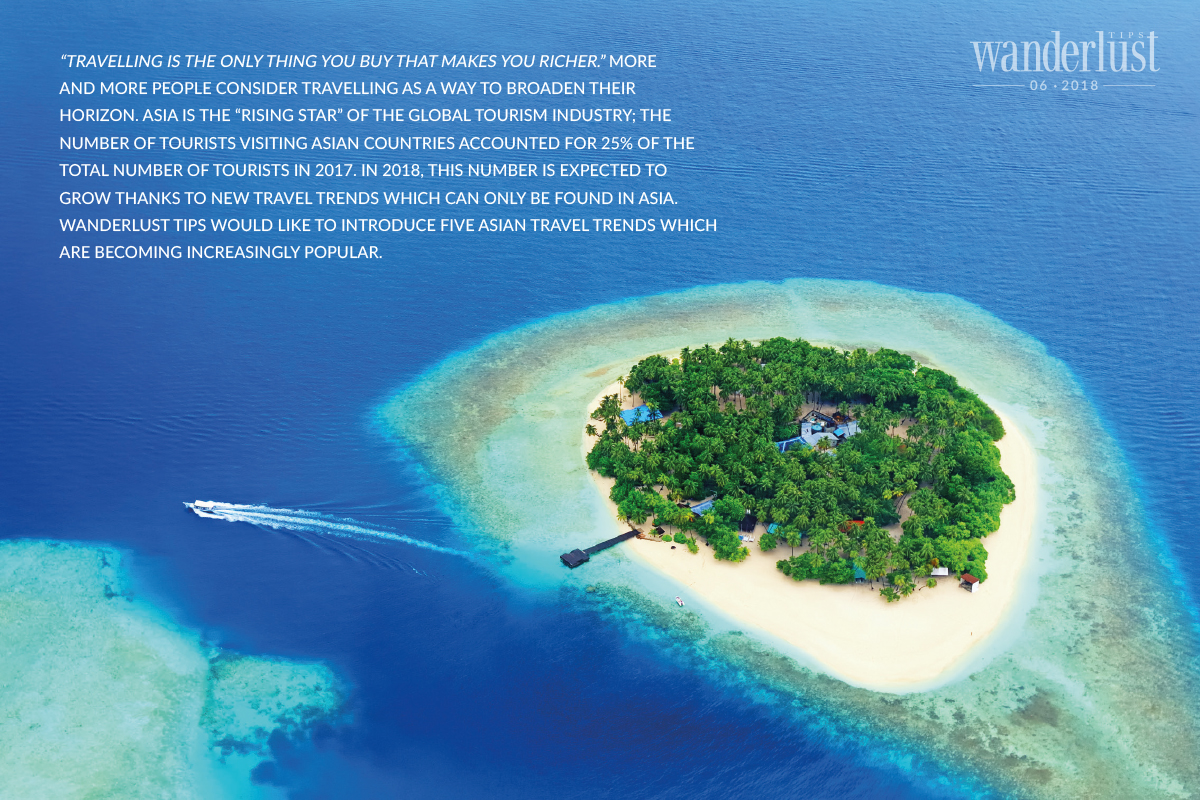 Wanderlust Tips Magazine   5 hot travel trends in Asia