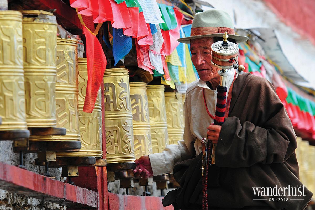 Wanderlust Tips Magazine   Tibetans and their pure faith in Buddha
