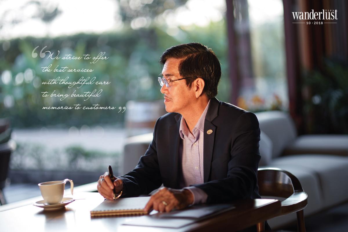 Wanderlust Tips Magazine | Mr. Tran Thai Do, The Owner of Silk Sense Hoi An River Resort