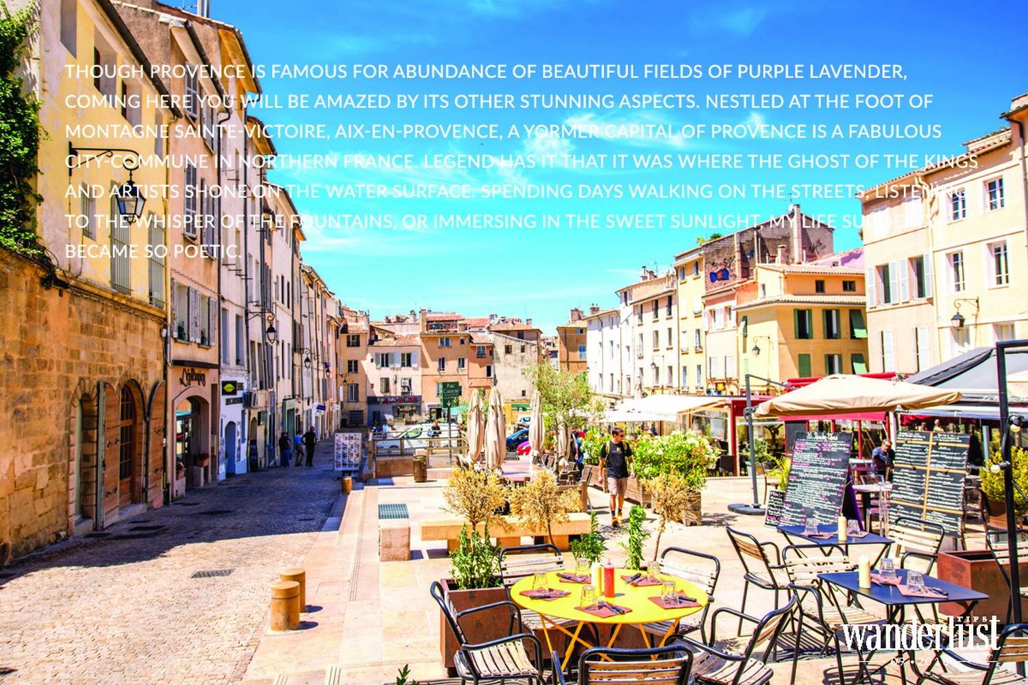 Wanderlust Tips Magazine | What is awaiting you in Aix-en-provence?