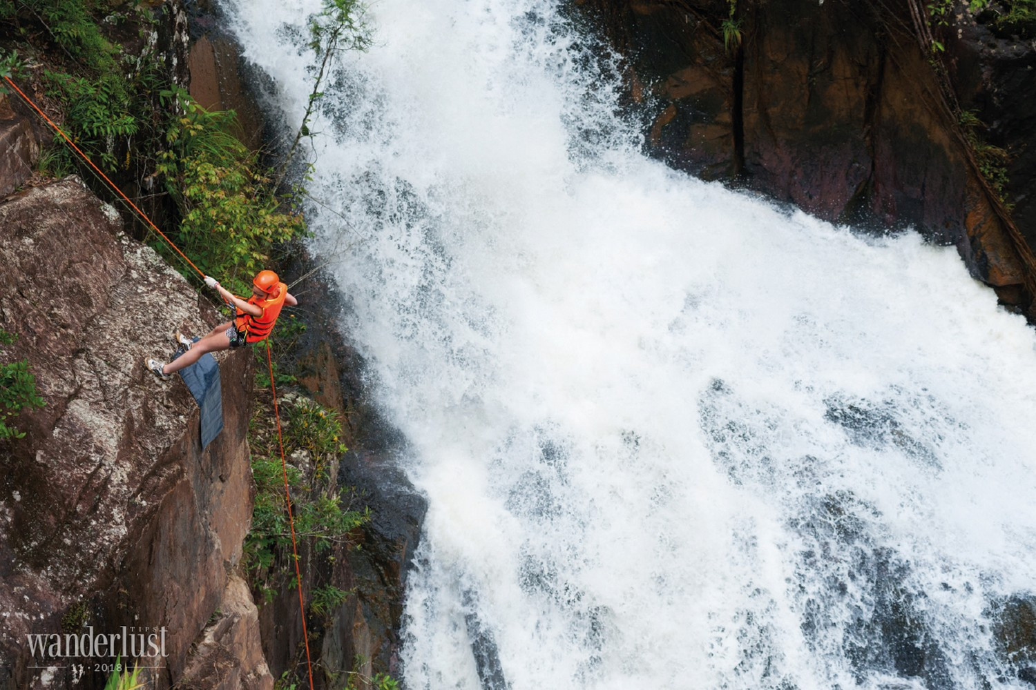 Wanderlust Tips | Cayoning in Da Lat - Conquer the fierce waterfalls