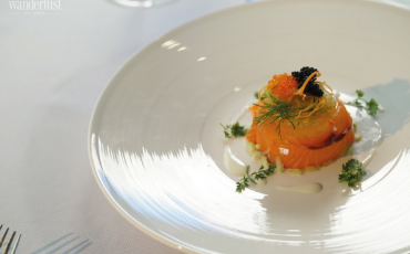 Wanderlust Tips Magazine | The very first michelin starred menu onboard president cruises in Halong Bay