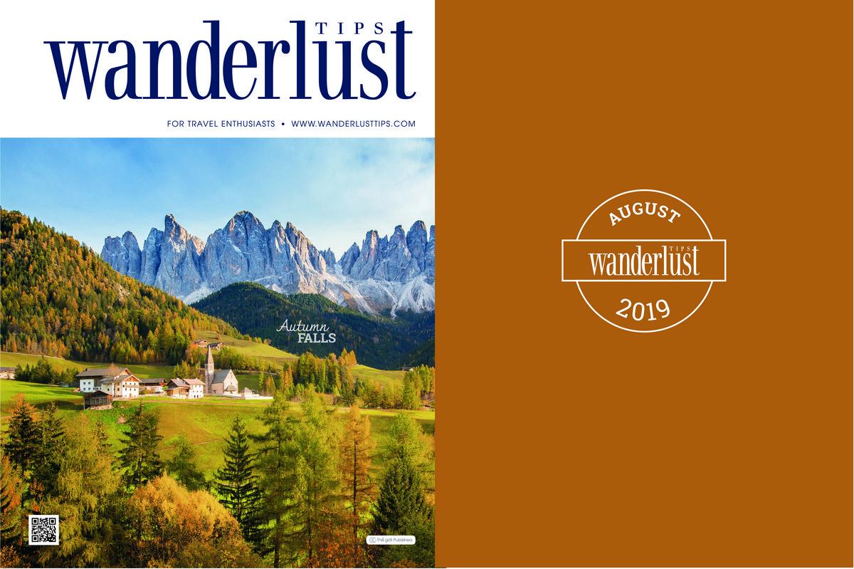 Wanderlust Tips Magazine | Wanderlust Tips Magazine in August 2019: Autumn falls