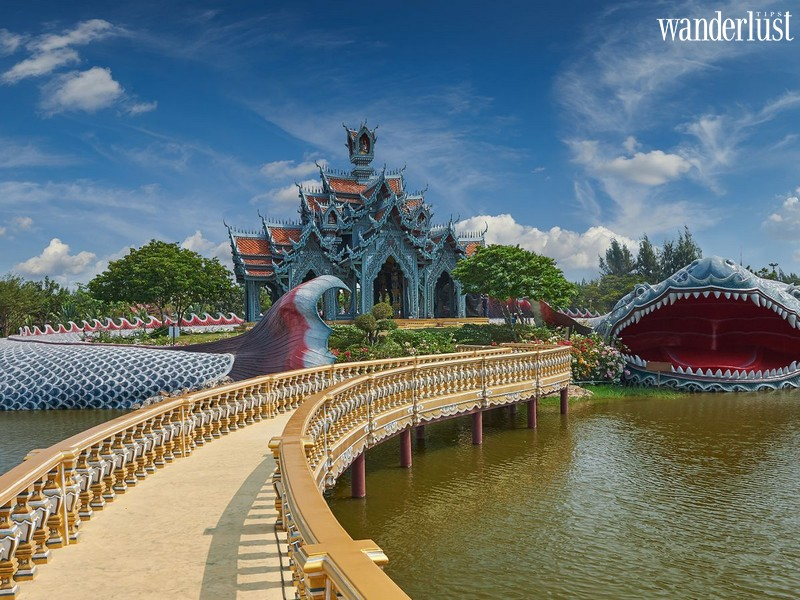 Wanderlust Tips Magazine   The marvellous Sumeru temple guarded by a giant fish