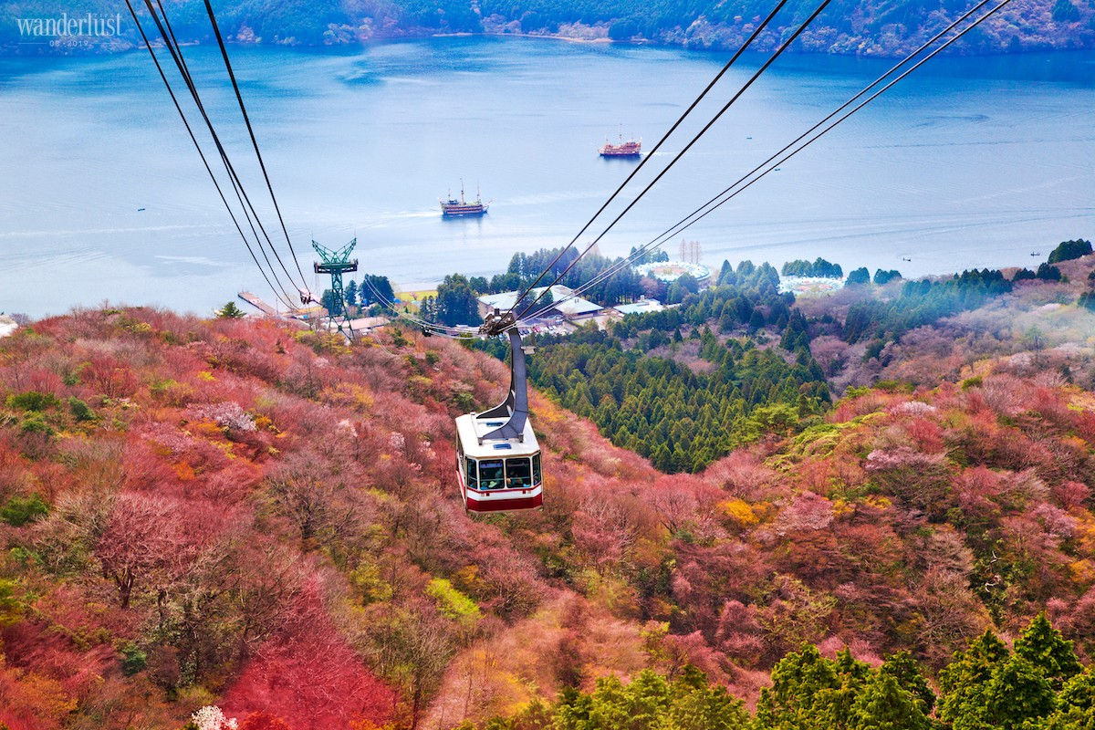 Wanderlust Tips From Tokyo, seeking out those autumnal vibes through postcards