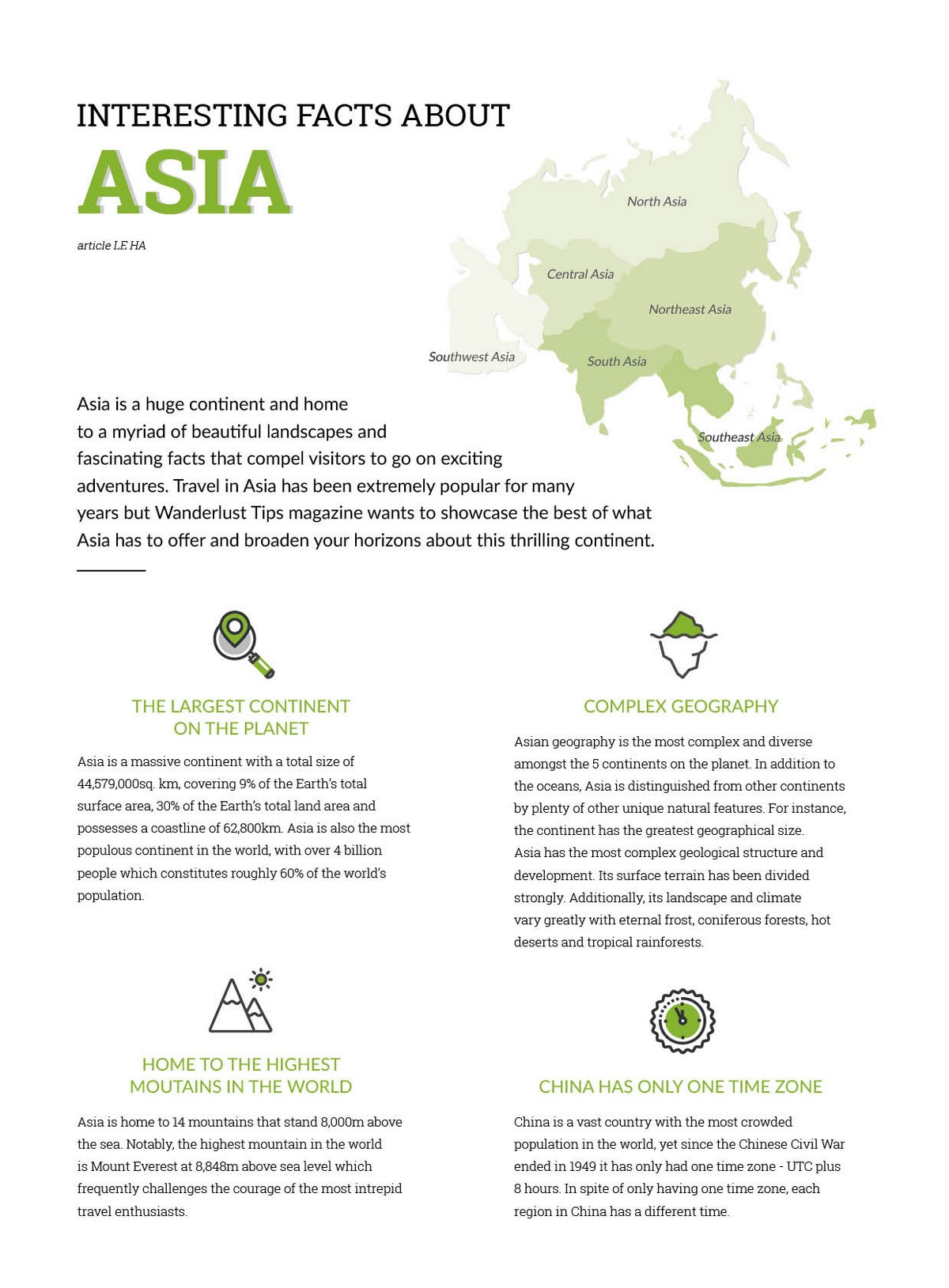 Wanderlust Tips | Interesting facts about Asia that will blow your mind