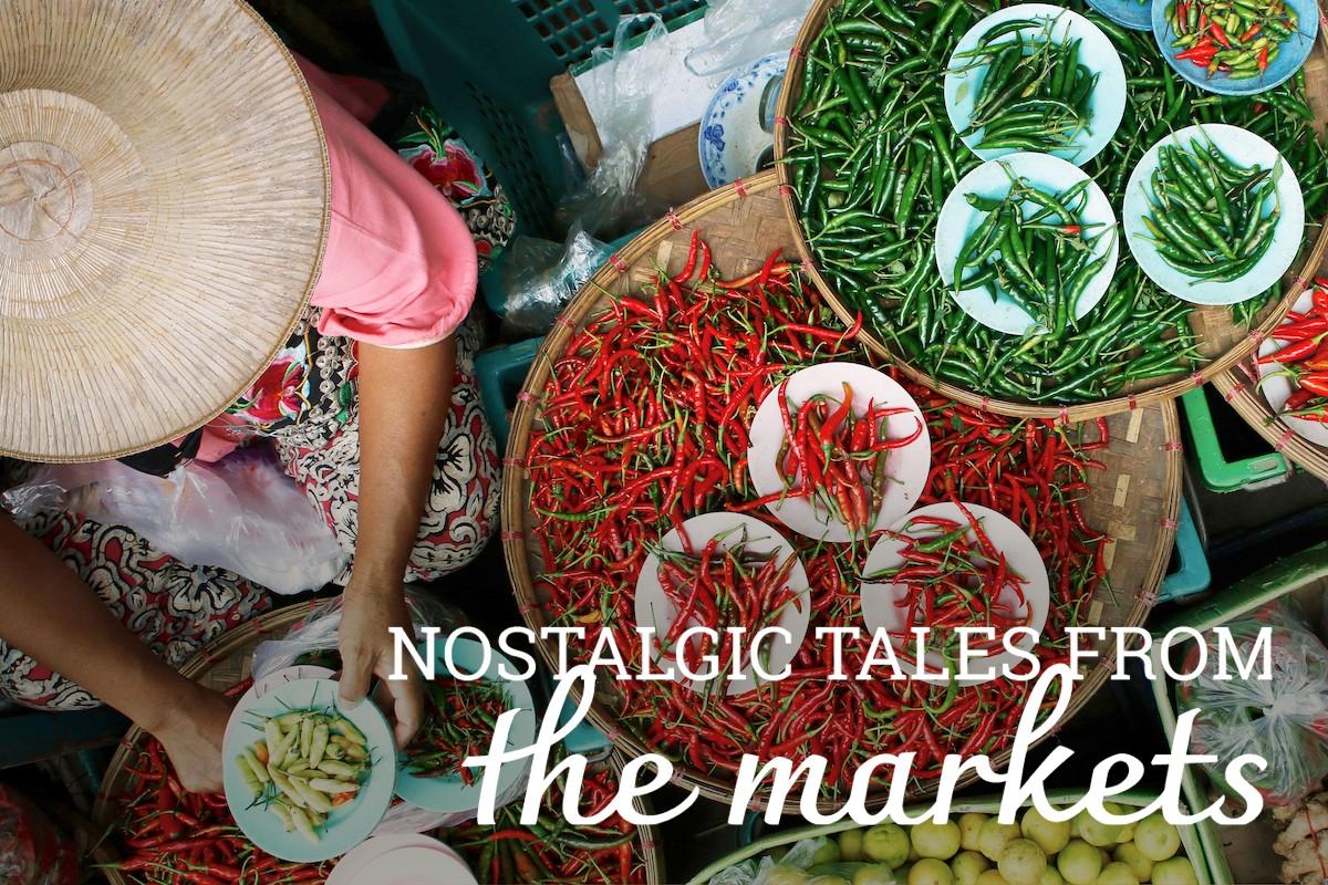 Wanderlust Tips Magazine in September 2019: Colours of the markets