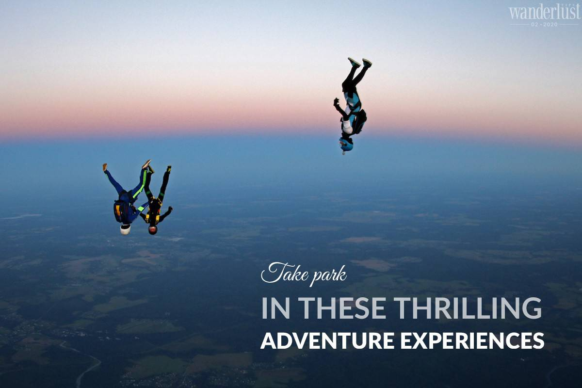 Wanderlust Tips magazine | Take part in these thrilling adventure experiences