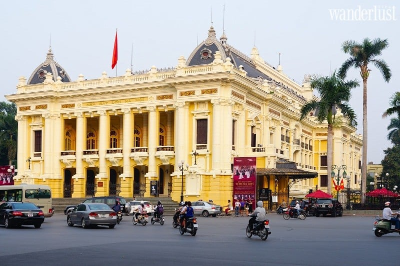 Wanderlust Tips Magazine | Exploring the French architectural wonders of Hanoi that will blow your mind