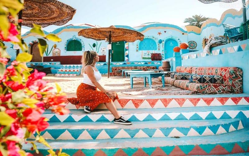 Wanderlust Tips Magazine   An awe-inspiring getaway to the vividly colourful Nubian Village, Egypt
