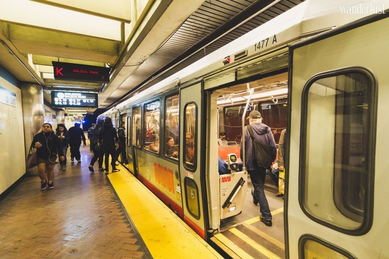 Wanderlust Tips Travel Magazine   The ultimate guide to San Francisco public transportation in California