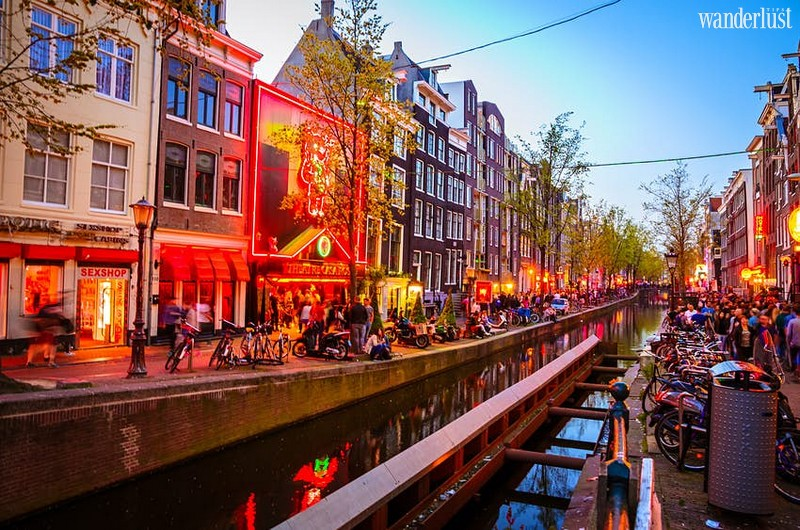 Wanderlust Tips Travel Magazine | Amsterdam in the Netherlands will move red light district outside the city centre