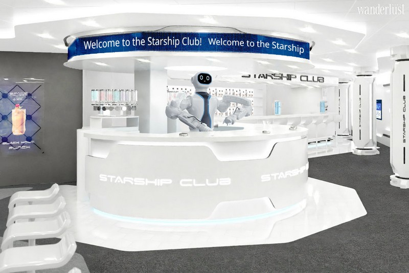 Wanderlust Tips Magazine | MSC Cruises introduces the first-ever robotic bartender at sea