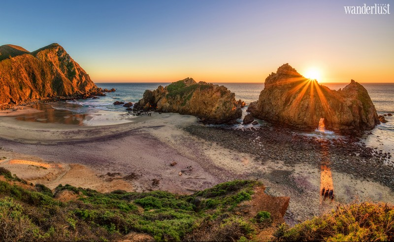 Wanderlust Tips Travel Magazine | Pfeiffer Beach: A one-of-a-kind escape in Big Sur, California