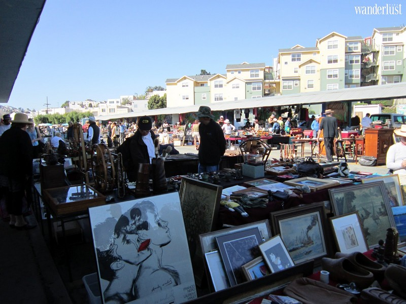 Wanderlust Tips | Visit the best flea markets in the San Francisco Bay Area, California