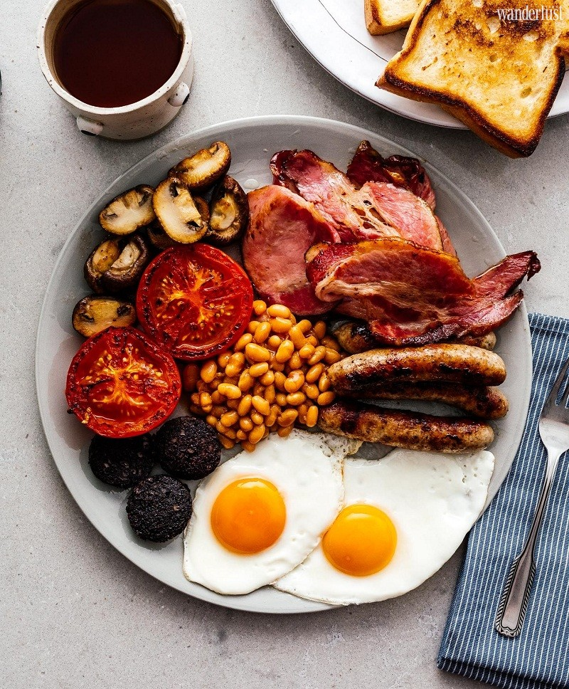 Wanderlust Tips Travel Magazine   What is in a traditional English breakfast?