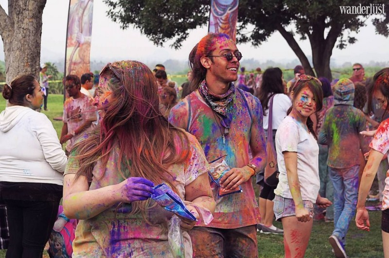 Wanderlust Tips Magazine | Where to celebrate the festival of colours around the world
