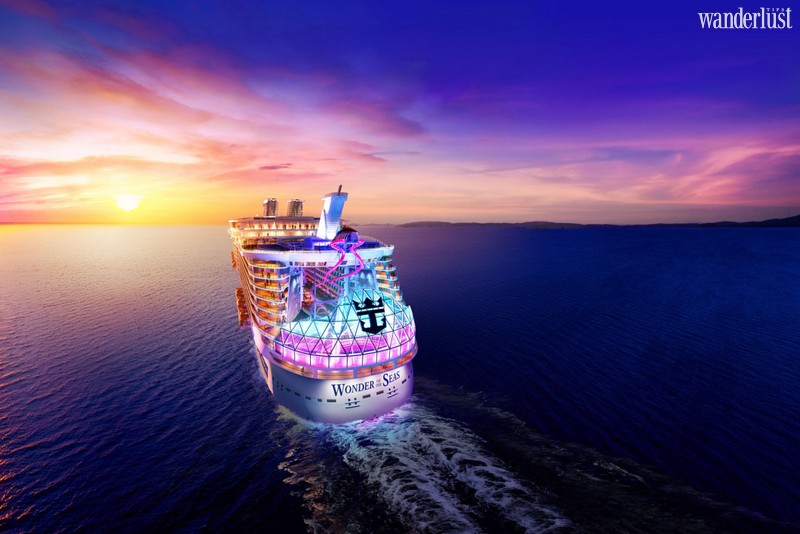 Wanderlust Tips Magazine   Royal Caribbean will introduce its newest supersize cruise ship in 2022