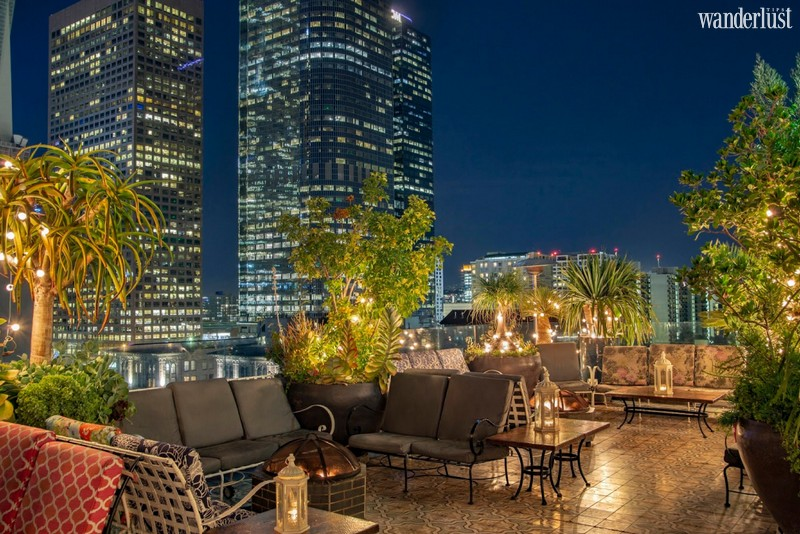 Wanderlust Tips Magazine   The coolest rooftop bars in Los Angeles, California