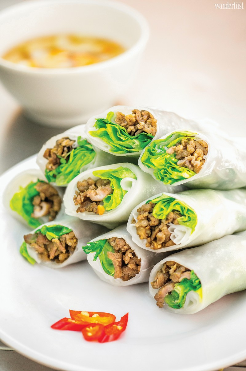 Wanderlust Tips Magazine | Vietnamese rolls with a side of nostalgia